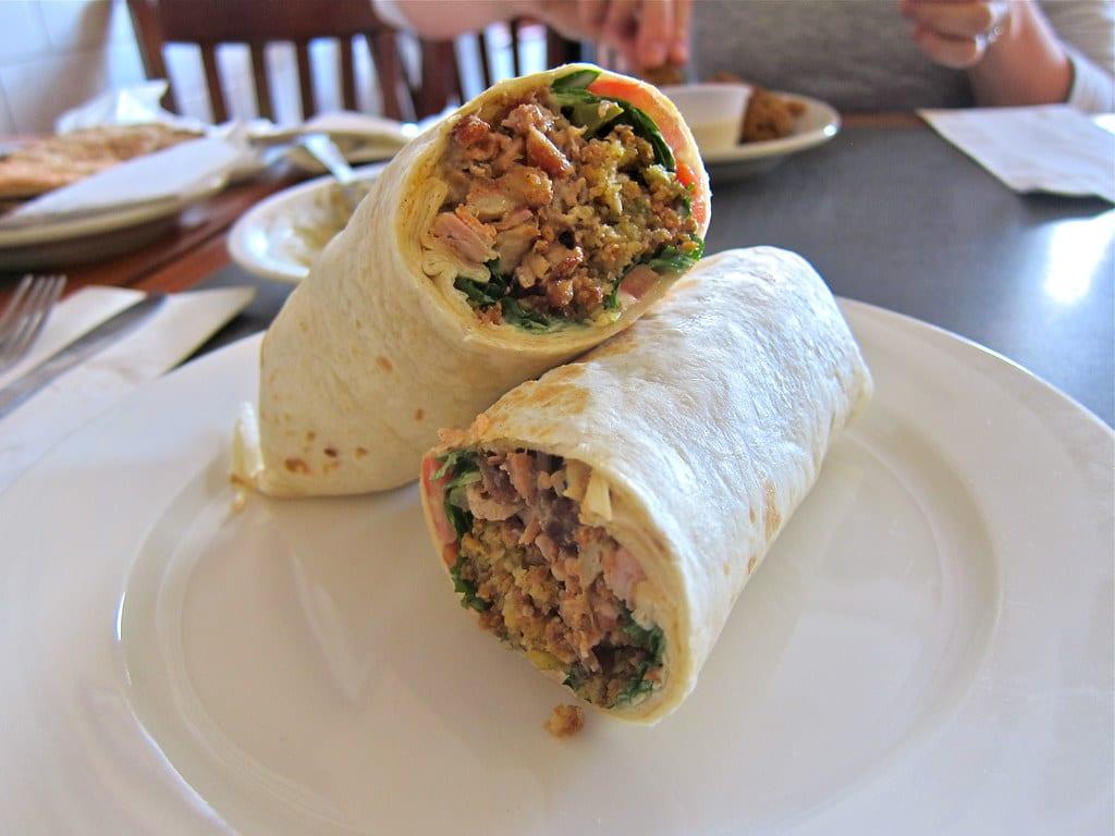 shawerma food