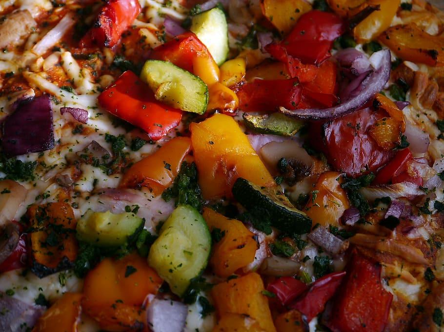 roasted vegetables food