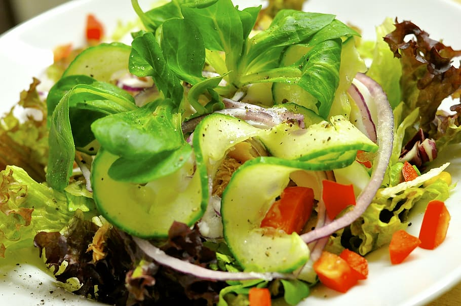 italian salad recipe food